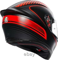 Agv Helmet K1 Warm Mbk/red Ms 0281o2i0002006
