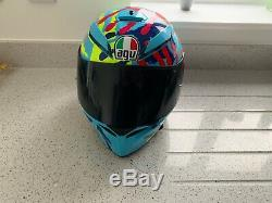 Agv K3 Sv Misano Valentino Rossi Replica Motorcycle Helmet 2014 Design