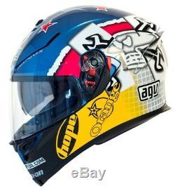 Agv K5-s Guy Martin 3some Helmet Motorcycle Motorbike