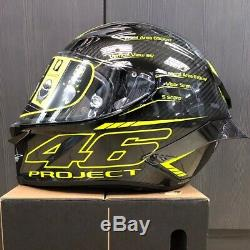 Agv Pista Gp-r Project 46 Prototype Design Motorcycle Track Racing Crash Helmet