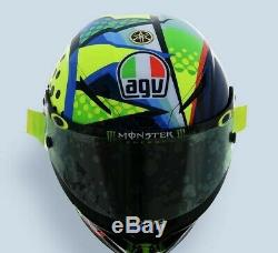 Agv Pista Gp-rr Valentino Rossi Winter Test 2020 Motorcycle Race Crash Helmet