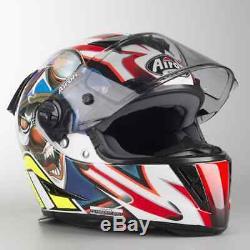 Airoh Helmet Gp500 Full Face Flyer Gloss