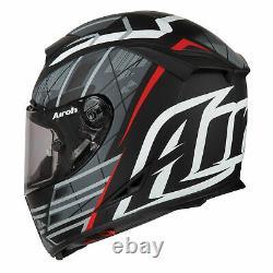 Airoh Helmet Gp500 Full Face Motorcycle Helmet Drift Black Matt