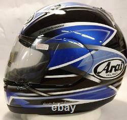 Arai Astral X Wing Blue NO SALES TAX Option motorcycle helmet Yamaha Sm Md Lg
