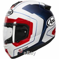Arai Axces 3 Line Blue RRP £429.99 Now only £319.99 Size Large