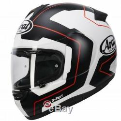 Arai Axces 3 Line Red RRP £429.99 Now only £299.99 Size Large