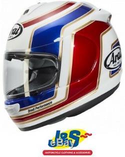 Arai Axces III 3 Full Face Motorcycle Helmet Motorbike SRP £429.99 Matrix Red