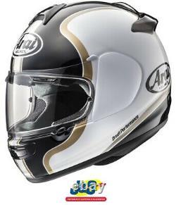 Arai Axcess III Dual Full Face Motorcycle Helmet Crash Race Premium Black J&S