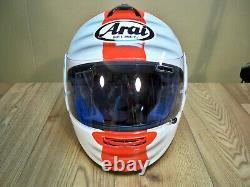 Arai CHASER British Motorcycle Sport RICH-ART Concepts Size L 59-60cm