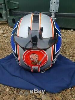 Arai Chaser V crash helmet, M, medium, VGC, full face