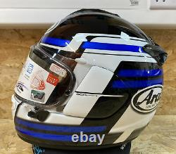 Arai Chaser X Competition Blue Motorcycle Helmet Large