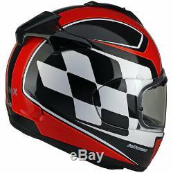 Arai Chaser X Finish Red Motorcycle Motorbike Full Face Crash Helmet Size Large
