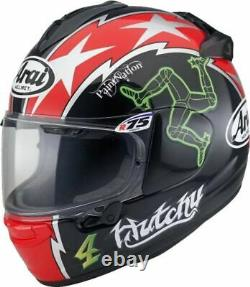 Arai Chaser X Hutchy Tt Motorcycle Helmet Medium