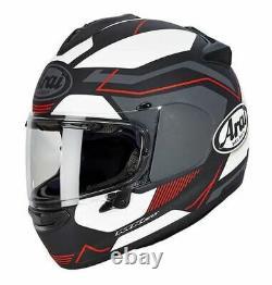 Arai Chaser-X Sensation Red Black Grey Full Face Motorcycle Helmet