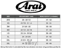 Arai Chaser-X Shaped