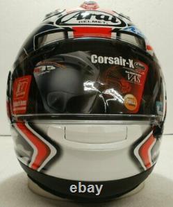 Arai Corsair X Nicky Hayden Laguna NO SALES TAX option motorcycle helmet Medium