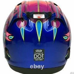 Arai Corsair X Russell 2 Blue motorcycle helmet Screaming Chief Indian Sm Md XL
