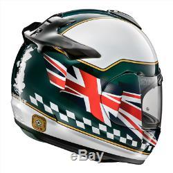Arai Debut Debut Union Jack Motorbike Motorcycle Helmet Race Track M SALE