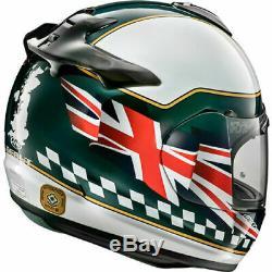 Arai Debut Union Motorcycle Motorbike Helmet Green Union Flag UK Supplier 2019