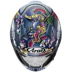 Arai Genuine Oem XD Oriental Matt Blue Full Face Helmet