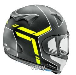 Arai Profile V Tube Full Face Motorcycle Helmet Fluo Yellow