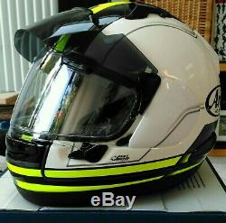 Arai QV PRO Full Face Motorcycle Helmet Medium 58 Sharp 5 Star QV-Pro