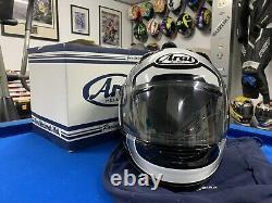 Arai Quantum ST Graphite Graphics Helmet Black And White