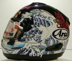 Arai Quantum X Oriental Black Gloss motorcycle helmet NO SALES TAX Option