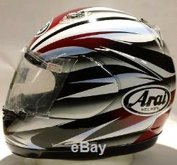 Arai Quantum/f Mach 2 Red NO SALES TAX OPTION motorcycle helmet Large
