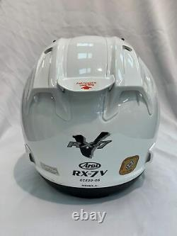 Arai RX-7V Diamond White Race Track Sports Helmet M