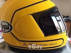 Arai RX-7V Joey Dunlop Replica Size Medium