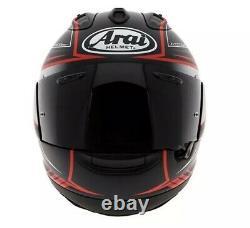 Arai RX-7V Maze Black & Red Motorcycle Helmet SIZE L LARGE