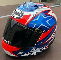Arai RX-7V Nicky Hayden WSBK 17 Size Medium