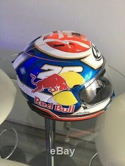 Arai RX-7V Pedrosa Samurai race track sports motorcycle helmet M
