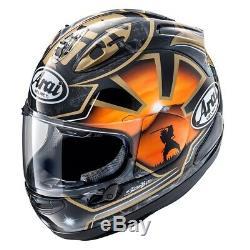 Arai RX-7V Pedrosa Spirit Gold Replica Motorcycle Helmet