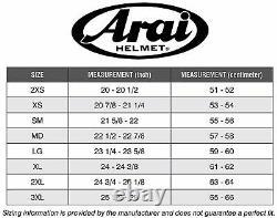 Arai RX-7V Sword Red Motorbike Helmet