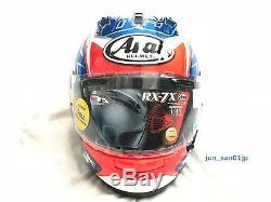 Arai RX-7X Full Face Helmet Nicky Hayden Hayden SB HaydenSB replica Japan NEW