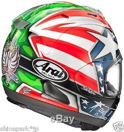 Arai RX-7X Hayden Motorcycle Helmet Full Face Nicky Hayden Size XL 61 62 cm