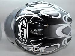 Arai RX7 Full Face Helmet RX7RR4 Colin Edwards Silver Small replica Moto GP NICE