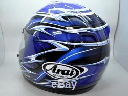 Arai RX7 Helmet RX-7 Corsair Randy Mamola Blue Small replica moto gp NICE
