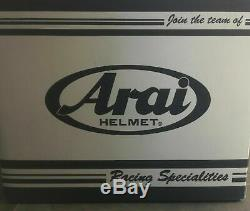Arai RX7-V Dyno White Frost withPINLOCK Size M