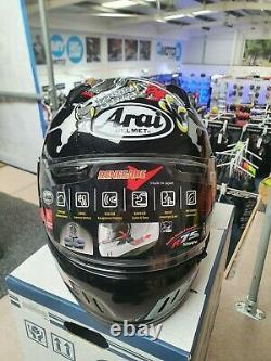 Arai Renegade-V Dragon Medium Motorcycle Helmet Anti-fog (Paint fault)