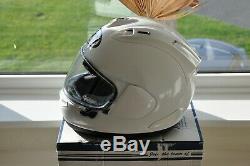 Arai Rx-7v Helmet Diamond White Size Medium New