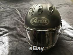 Arai Rx-7v Motorcycle Racing Helmet Matt Black Size Small