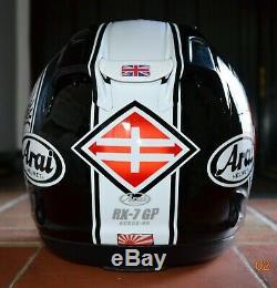 Arai Rx7-gp Safety Helmet Shinya Nakano Sakura Size Medium 57-58 CM