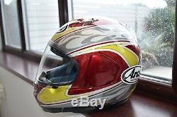 Arai Signet Gt Motorcycle Helmet Size Medium 57 / 58cm Motorbike