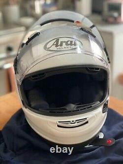 Arai Signet-X Helmet LARGE with Arai VAS-V Pro Shade System