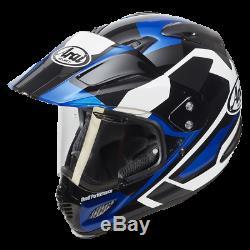 Arai Tour-X 4 CATCH BLUE Adventure Enduro Motorcycle Helmet LARGE 59/60 NEW