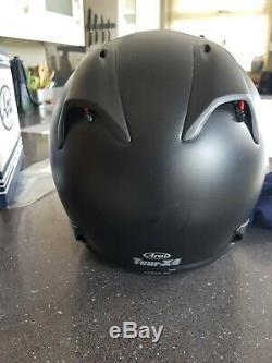 Arai Tour X4 Frost Black Motorcycle Motorbike Helmet XL