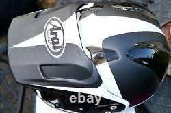 Arai Tour X4 Route White Motorcycle Adventure Helmet